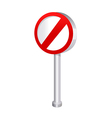 icon sign vector image vector image