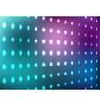 Blue and magenta light wall background vector image