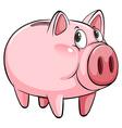 A big piggybank vector image