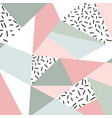 abstract geometric pattern or background vector image vector image