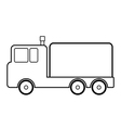 Cargo car icon vector image vector image