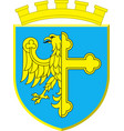 coat of arms of opole city in opole voivodeship vector image vector image