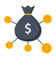 Crowdfunding Icon vector image