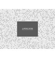 abstract minimal gray square pattern background vector image vector image
