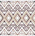 geometric decorative seamless pattern vector image vector image