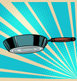 griddle frying pan skillet saucepan kitchen vector image