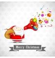 Santa with Christmas Goodies vector image vector image