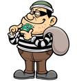 Thief vector image