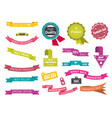 best price label special offer ribbons and tags vector image vector image