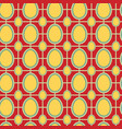 easter pattern retro vector image