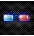 Glasses for Watching Movies vector image