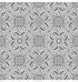 gray paisley pattern vector image vector image