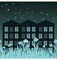 Night street vector image