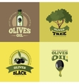 set olives vector image vector image