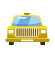 Taxi car icon in cartoon style vector image vector image