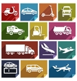 Transport flat icon-05 vector image