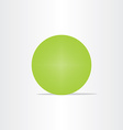 abstract green net globe circle vector image vector image