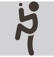 baseballl icon vector image vector image