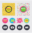 cash money signs currency with coins icons vector image