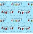 Cute cartoon on the theme of merry vector image