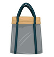 handbag for women in sportive style fashion and vector image vector image
