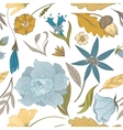 Vintage Fall Floral Pattern vector image vector image