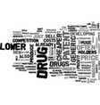 Why are generic drugs cheaper text word cloud