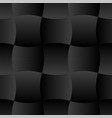 3d curve tile seamless pattern black 001 vector image vector image