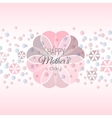 Lettering Happy Mothers Day card vector image vector image