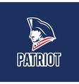 patriot design template vector image vector image