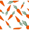 Pattern Silhouette Carrots vector image