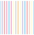 Seamless pastel stripes background or tile pattern vector image vector image