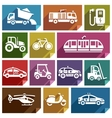 Transport flat icon-06 vector image
