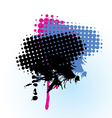 colorful-grunge-banner vector image vector image