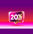 discount special offer 20 off sale flyer