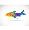 Fish abstract vector image vector image