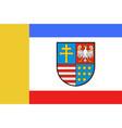flag of swietokrzyskie voivodeship in poland vector image vector image