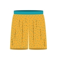 large men swimming trunks icon vector image