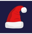 Santa Claus red hat vector image vector image