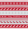 Seamless Christmas background1 vector image vector image