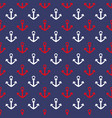 seamless pattern marine elements on a white vector image vector image
