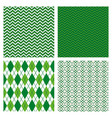 set abstract texture with geometric design vector image