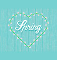 spring background in gentle blue tones vector image vector image