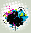 Abstract grungy design vector image vector image