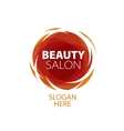 abstract logo for beauty vector image