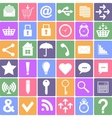 Basic icons set Apps Smartphone sign icon vector image vector image