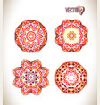 beautiful ethnic ornament vector image