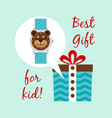 best clocks gift for kid vector image vector image