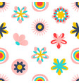 floral seamless patternmodern abstract design for vector image