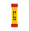 glue stick icon flat style vector image